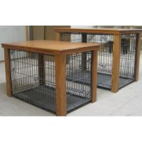Wooden Table Dog Crate Cover | Creative & Crafty ...