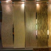 Acrylic wall panels.