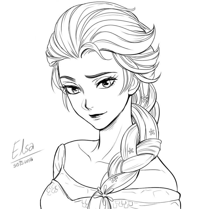 [ Frozen ] Elsa by setsuna1111 on deviantART A fan of all