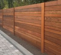 Image of: Horizontal Fence Panels Style | Secret Garden ...