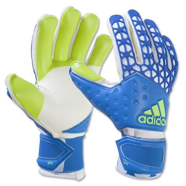 adidas ace zones pro gloves blue white green