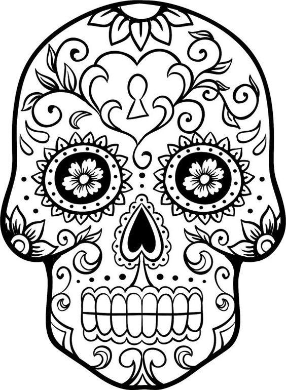 Dia de los Muertos: Sugar Skull Craft, Day Of The Dead