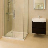 Quattro Beige Wall Tile | Bathroom Ideas | Pinterest