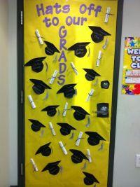 school door decorations for graduation