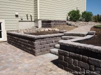 retaining wall ideas | ... under Deck with Retaining Wall ...