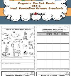 Animals Habitat Worksheet Grade 1   Printable Worksheets and Activities for  Teachers [ 7572 x 2550 Pixel ]