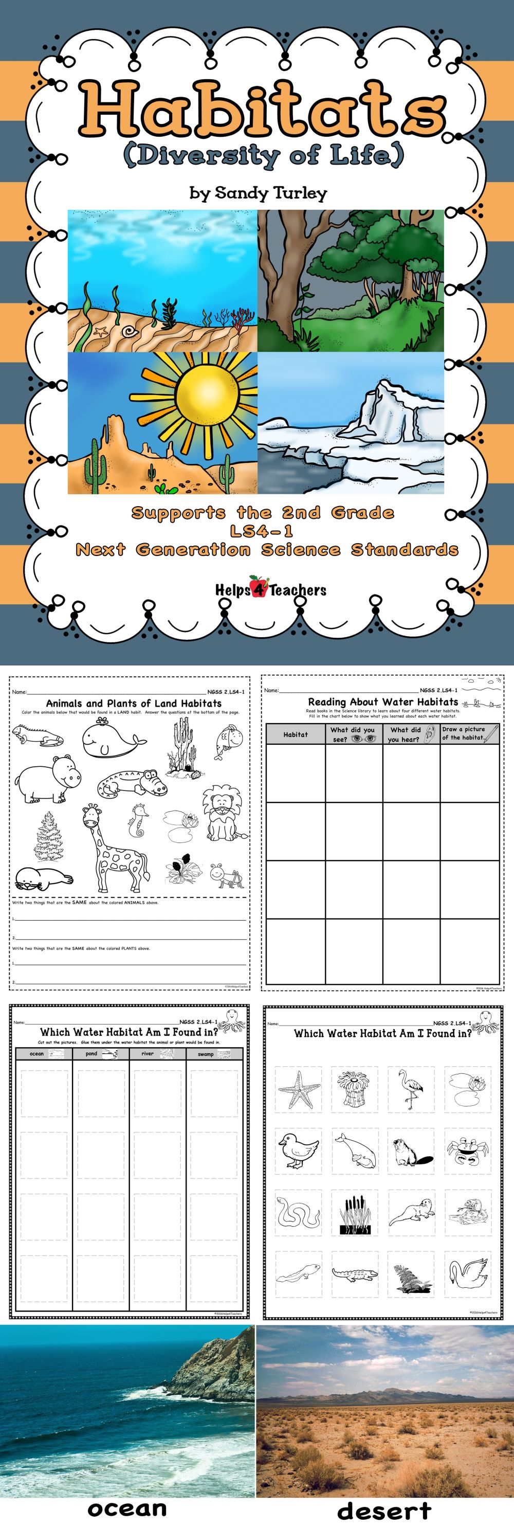 medium resolution of Animals Habitat Worksheet Grade 1   Printable Worksheets and Activities for  Teachers
