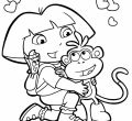 Full hd dora valentine loring pages of smartphone pics httptimykidsmloringdorahtml