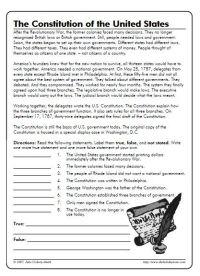 All Worksheets  Constitution Worksheets - Printable ...
