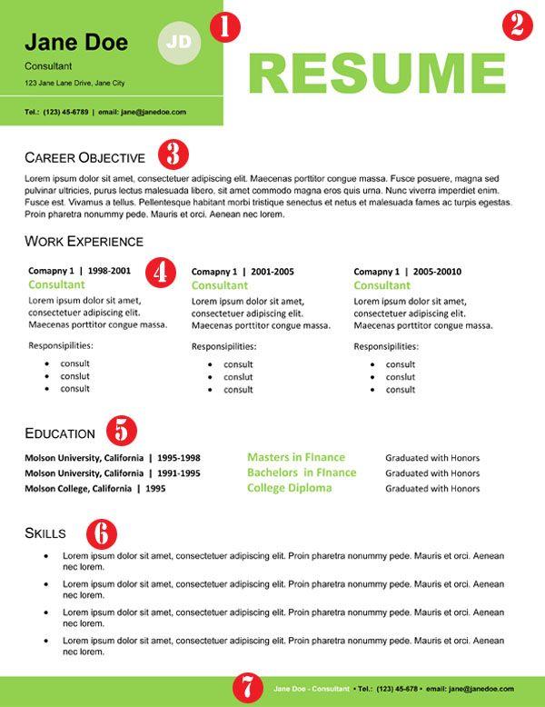 Professional Resume Design For Non Designers Creative Resume