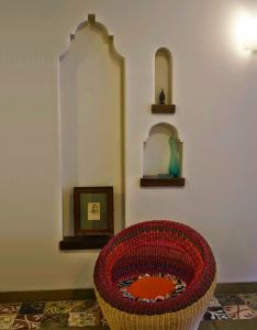 The keybunch home tour mumbai designers transform an apartment into  beautiful space with world ethnic feel also living room niches   let   decorate rh za pinterest