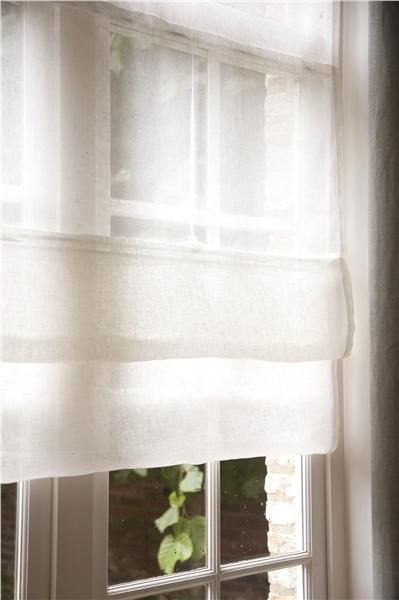 Sheer linen shades  Features  Window Treatments