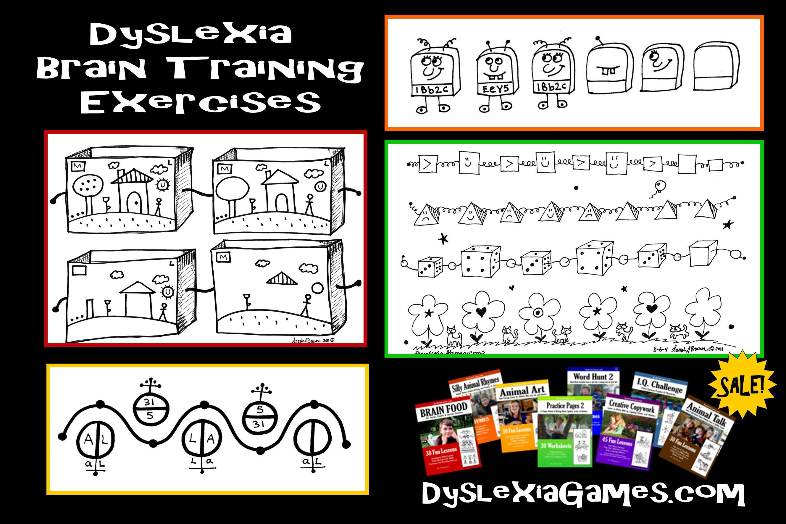 Dyslexia Try Our Brain Training Exercises Games And Fun Activities To Overcome Problems With