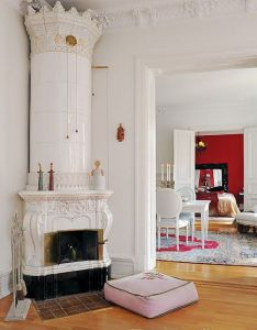 Stone and brick corner fireplace design ideas remodelingcorner designscorner also white with color spots tiny homes earth  monolithic dome rh pinterest