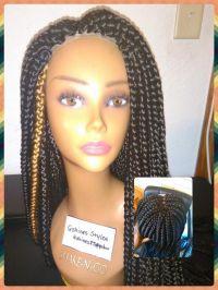 Lace front braid wig   braids   Pinterest   Front braids ...
