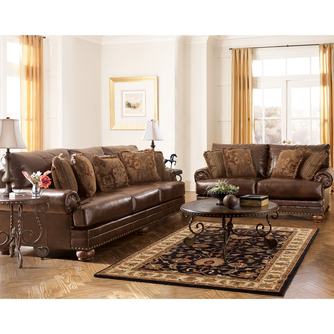 sofa sectional ashley durablend custom made bed singapore signature design by 9920038 atg