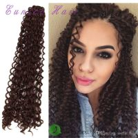 "Synthetic hair 22"" Free tress water wave,curly crochet ..."