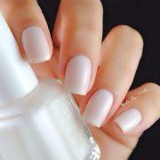 bridal nails matte finish