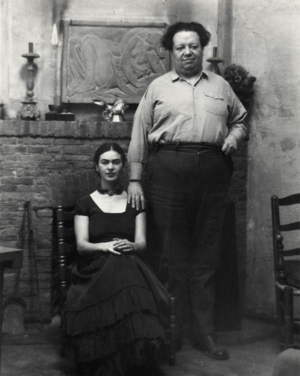 Diego Rivera And Frida Kahlo San Francisco California