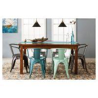 Carlisle Metal Dining Chair (Set of 2) - Mint Green Target ...