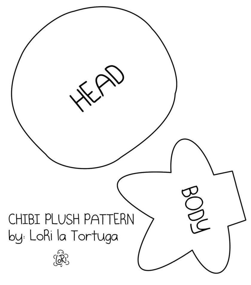 chibi plush pattern by ~LoRi-La-Tortuga on deviantART