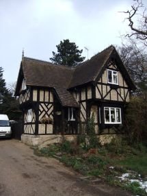 English Tudor Cottage House