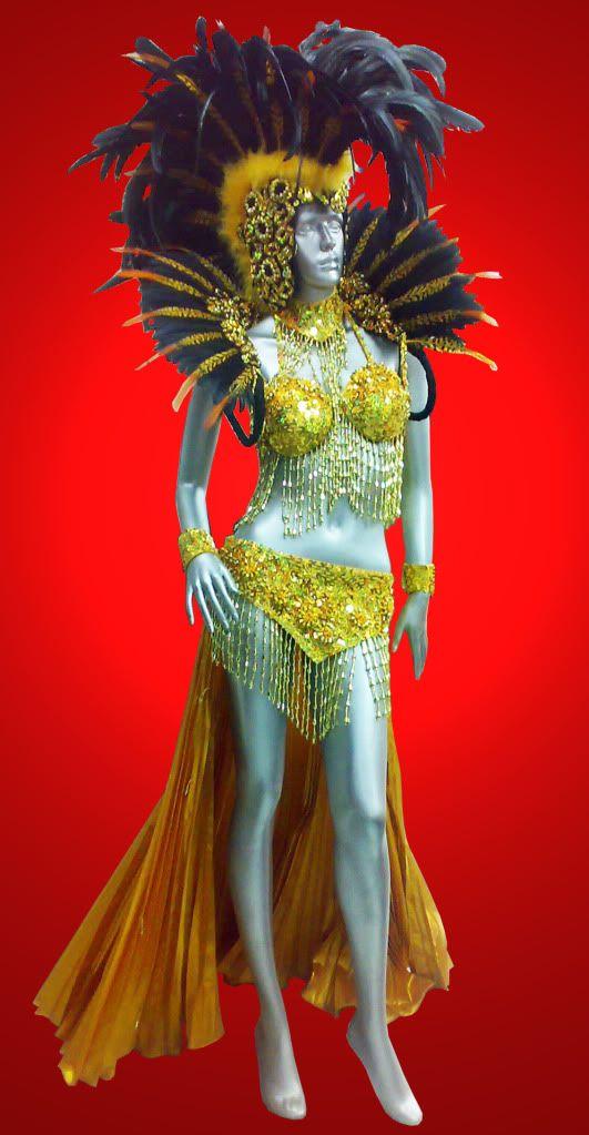 Feather Showgirl Drag Queen Cabaret Burlesque Shoulder