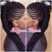 cornrow mohawk ideas