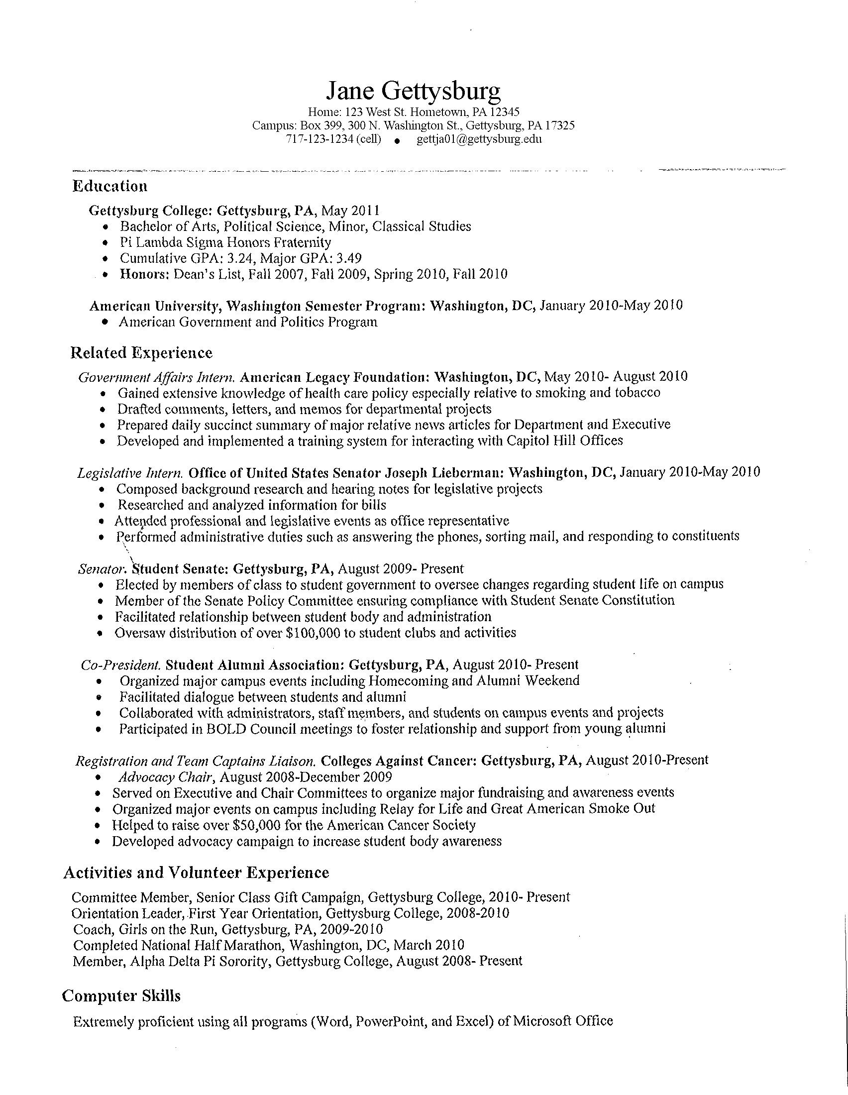 Sample High School Resumes High School Student Resume Best Template Gallery Http