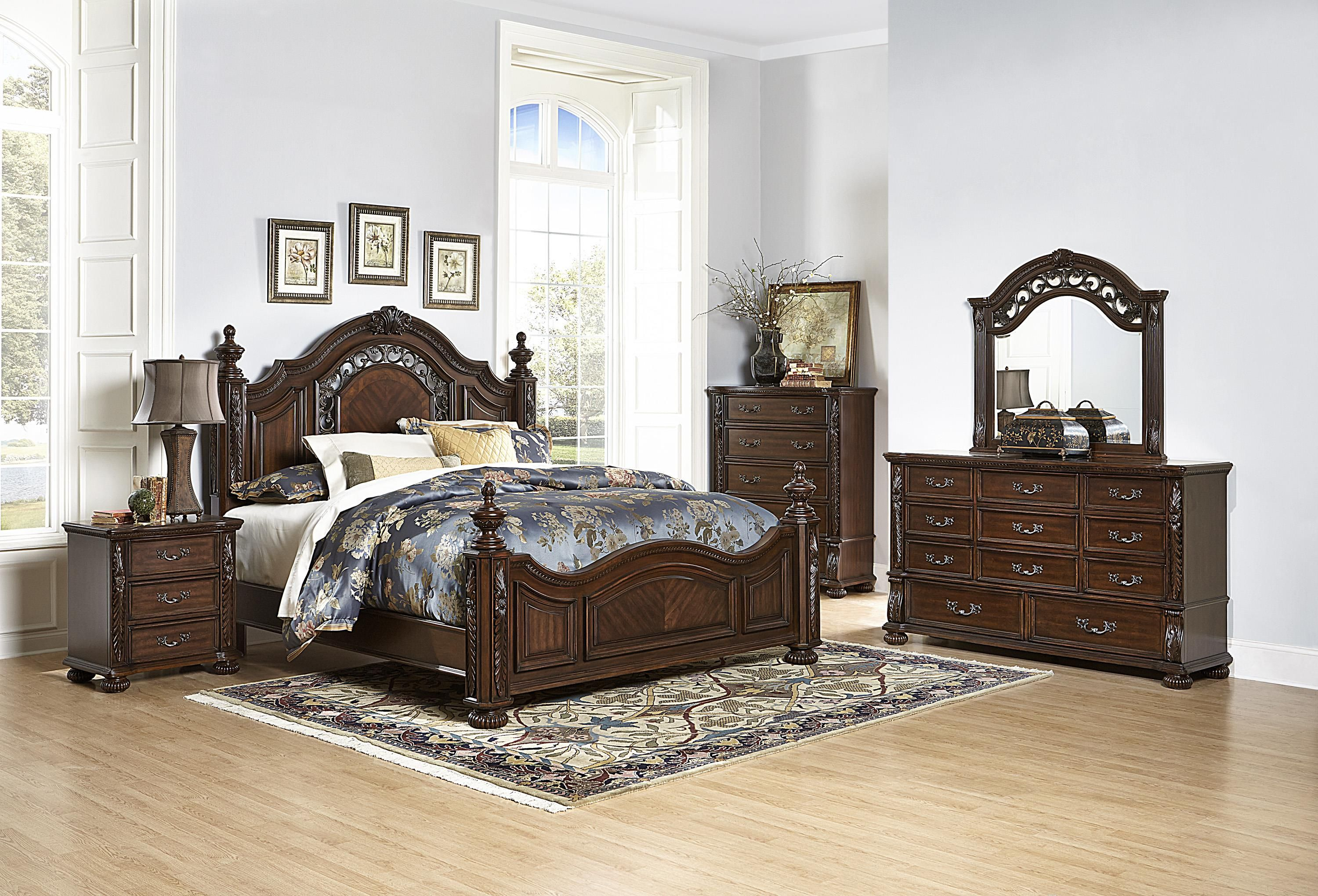 emery king bedroom group by homelegance | furniture | pinterest