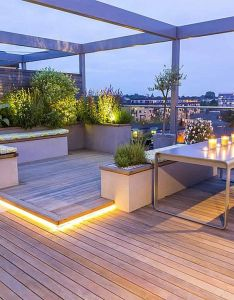 cozy and relaxing rooftop terrace design ideas you will totally love also rh pinterest