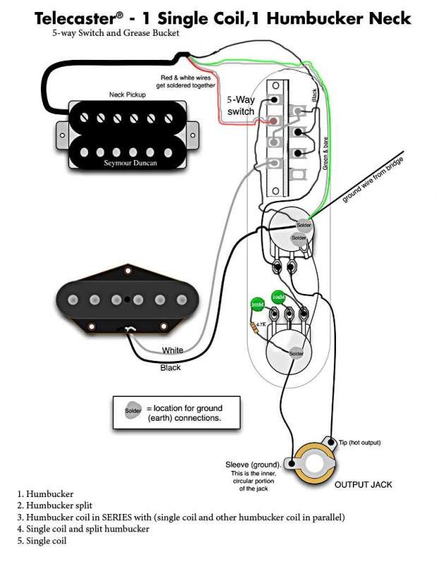 Tele Wiring Diagram 5 Way Switch moreover 1122581 likewise 82 Astonishing Humbucker Schematic Image Ideas further Jeff Beck Strat Wiring Diagram also Guitar Pots. on telecaster hh wiring diagram