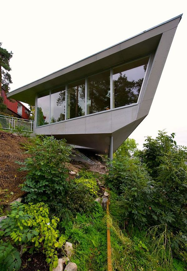 "Cliff Home Plan ""Edgy"" In Norway Villas House Design And Names"