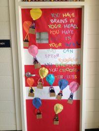 Oh the places you'll go door decoration | Dr Seuss ...