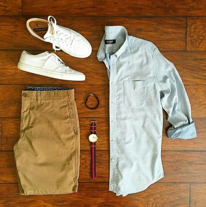 Outfit tenis blanco hombre