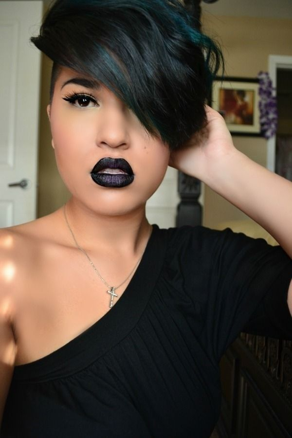 10 New Black Hairstyles With Bangs Hairstraightenerbeauty