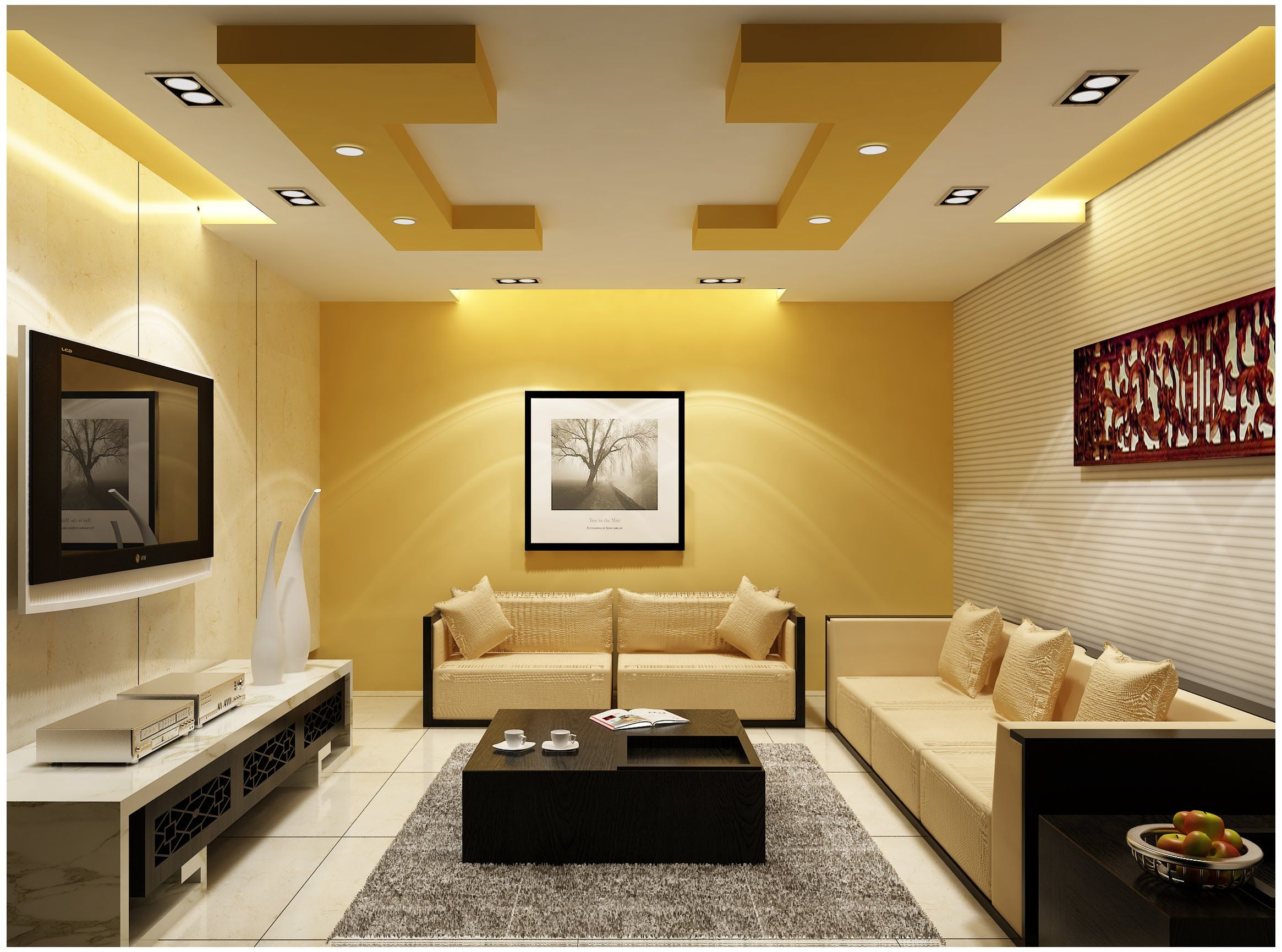 Ceiling Designs For Your Living Room Gardens Design Design And Home