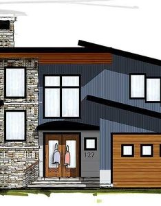 Modern house plan with two story great room ck st floor master suite also rh pinterest