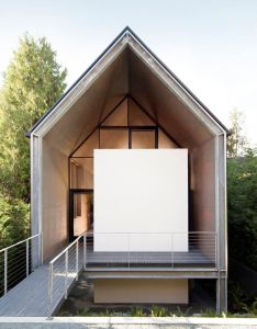 minimalist house designed for couple desiring downsize also rh pinterest