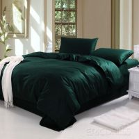 Dark Green Bedding Sets Ocyorsz | Slytherin Style ...