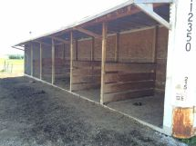 Horse Barn Made From Shipping Containers