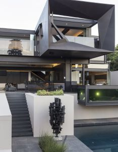 Nico van der meulen architects together with interior designers  square lifestyle design have recently completed the kloof road house in johannesburg also masterpiece by rh pinterest