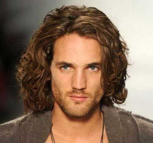 Mens Long Hairstyles For Thick Hair Hair Pinterest Thick