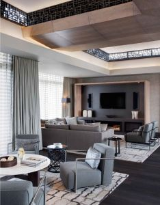 This contemporary penthouse is  private apartment on the top floor of one  only hotel in capetown south africa keith interior design  also from by rh pinterest