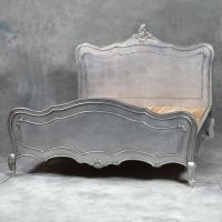"""""""Antique"""" french silver bed 