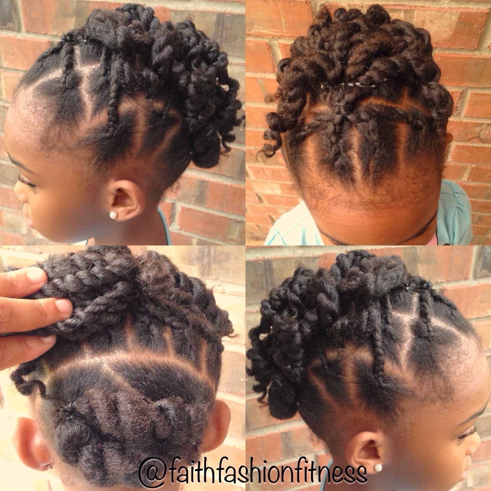 Natural Hairstyle Protective Style For Kids Natural Hairstyles