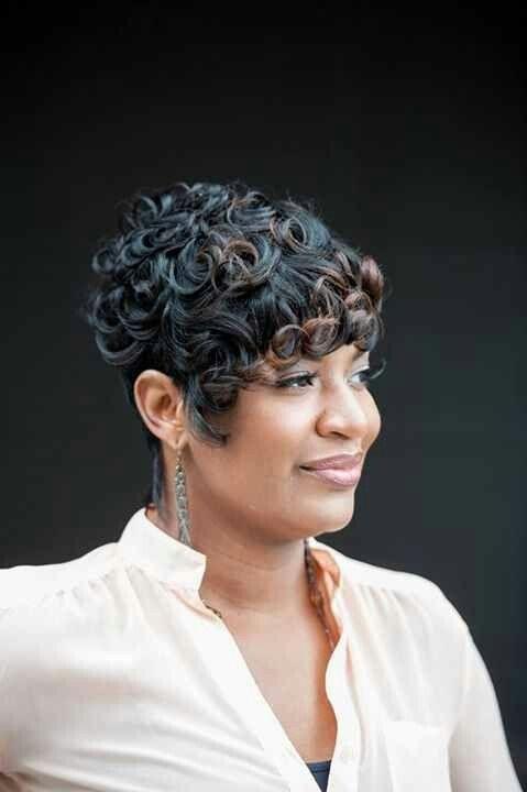 Pin Curls Hairstyles For Short Hair Pin Hair Trend 2017
