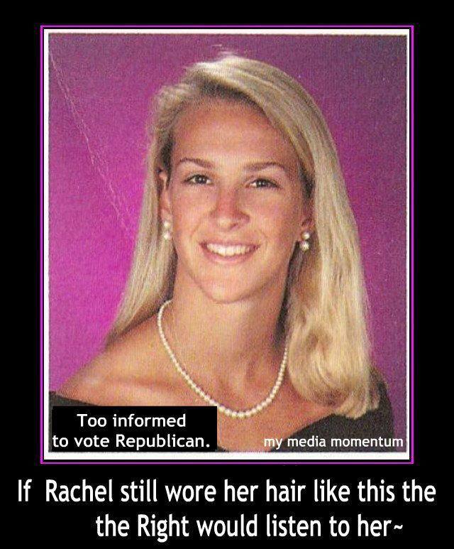 Rachel Maddow High School Yearbook