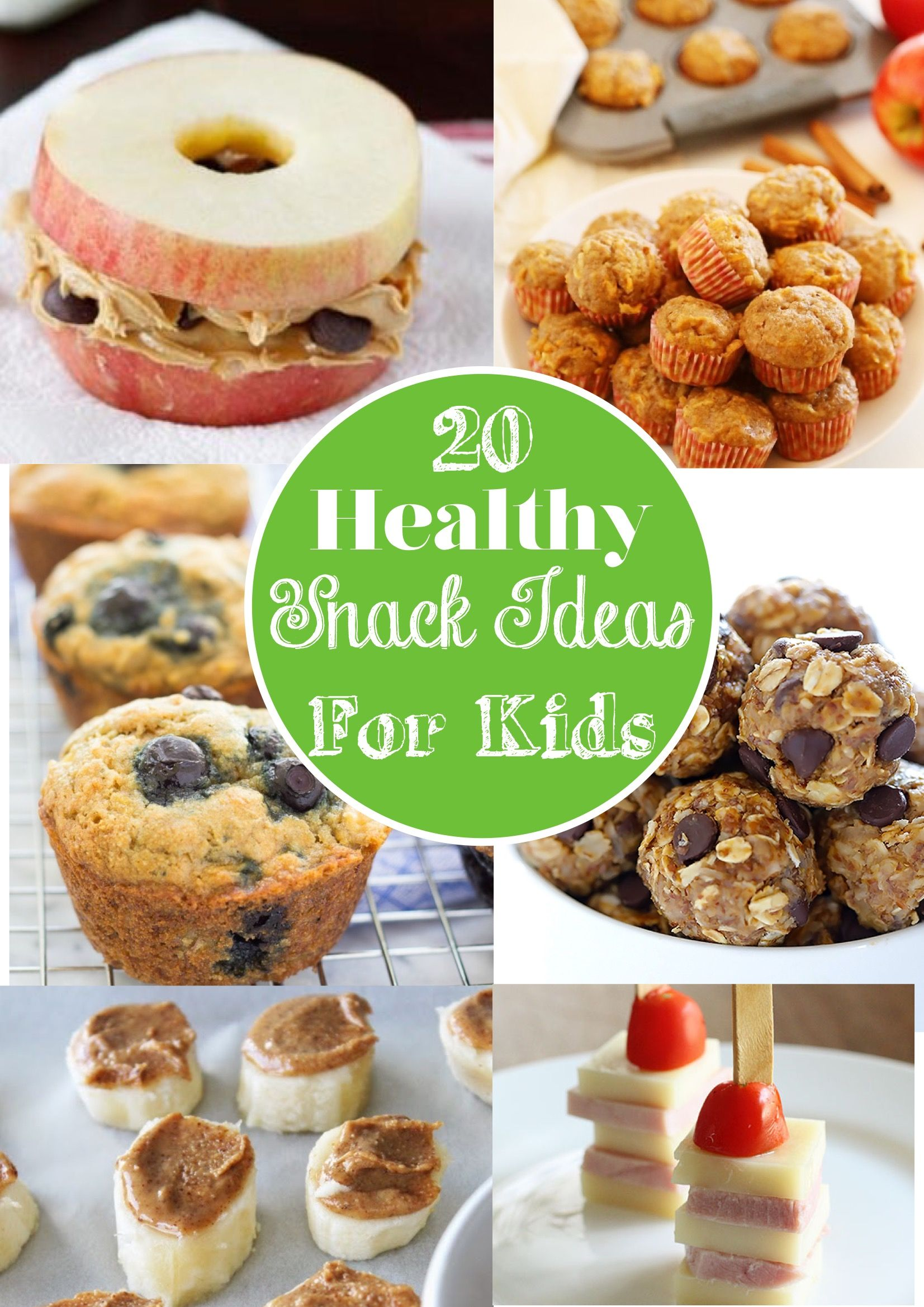 20 Amazing And Healthy Snack Ideas For Kids And Grownups
