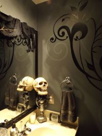 Halloween bathroom decor | DIY On A Budget | Pinterest ...